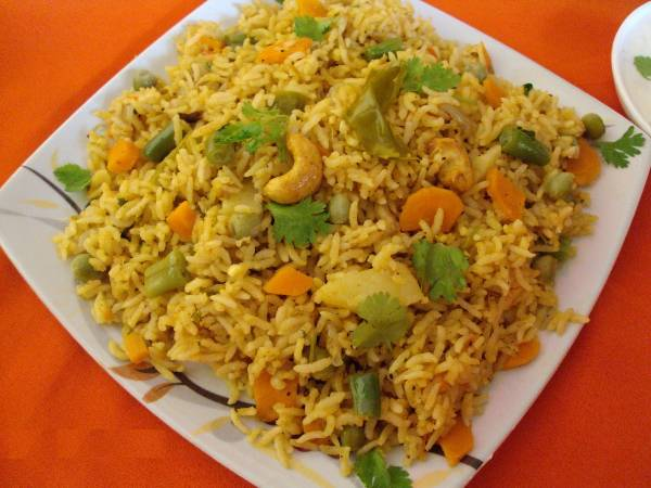 Vegetable Biryani, Taste Of Travancore, streetbell.com, www.streetbell.com