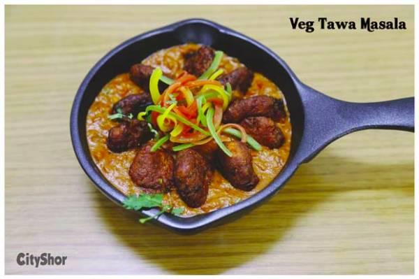 Veg Tawa Masala, Khasak Restaurant, streetbell.com, www.streetbell.com
