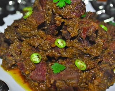 Beef Kadai, Khasak Restaurant, streetbell.com, www.streetbell.com