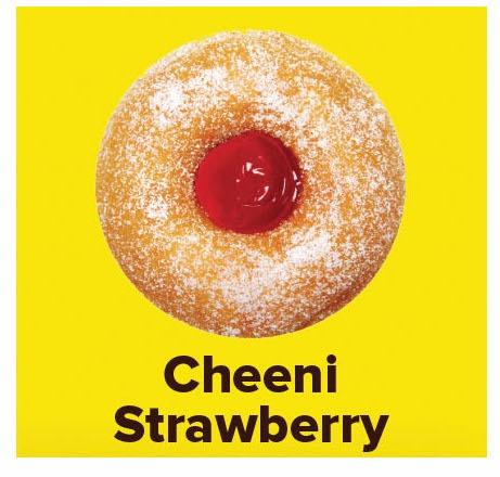Cheeni Strawberry, Donut House, streetbell.com, www.streetbell.com