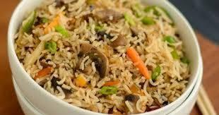 Spicy Mushroom Fried Rice, Le Arabia Kazhakoottam, streetbell.com, www.streetbell.com