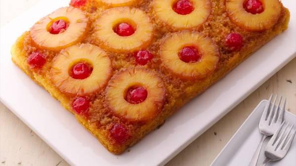 Pineapple Almond Gateau, Cake Time Trivandrum, streetbell.com, www.streetbell.com