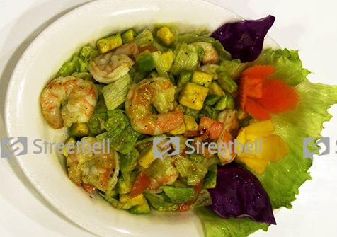 Shrimp salad, Zam Zam Palayam, streetbell.com, www.streetbell.com