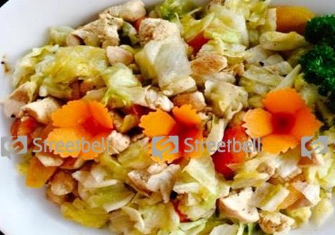 Grilled Chicken Salad, Zam Zam Palayam, streetbell.com, www.streetbell.com