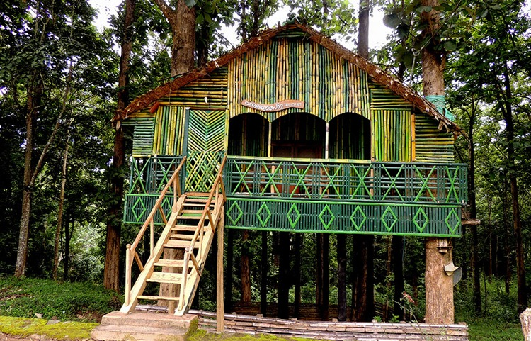 keralaforestecotourism.com,TREE TOP HUT AT THUNAKADAVU
