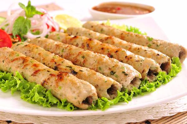 Chicken Reshmi Kabab, The Dhaba Project, streetbell.com, www.streetbell.com
