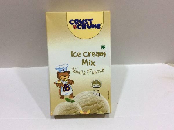 Crust and Crumb Ice Cream Mix Vanilla 100gm, The Bakers Walk, streetbell.com, www.streetbell.com