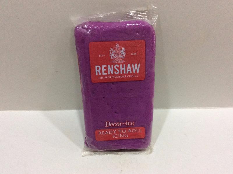 Renshaw Decor Ice- Dusky Lavender 250gm, The Bakers Walk, streetbell.com, www.streetbell.com