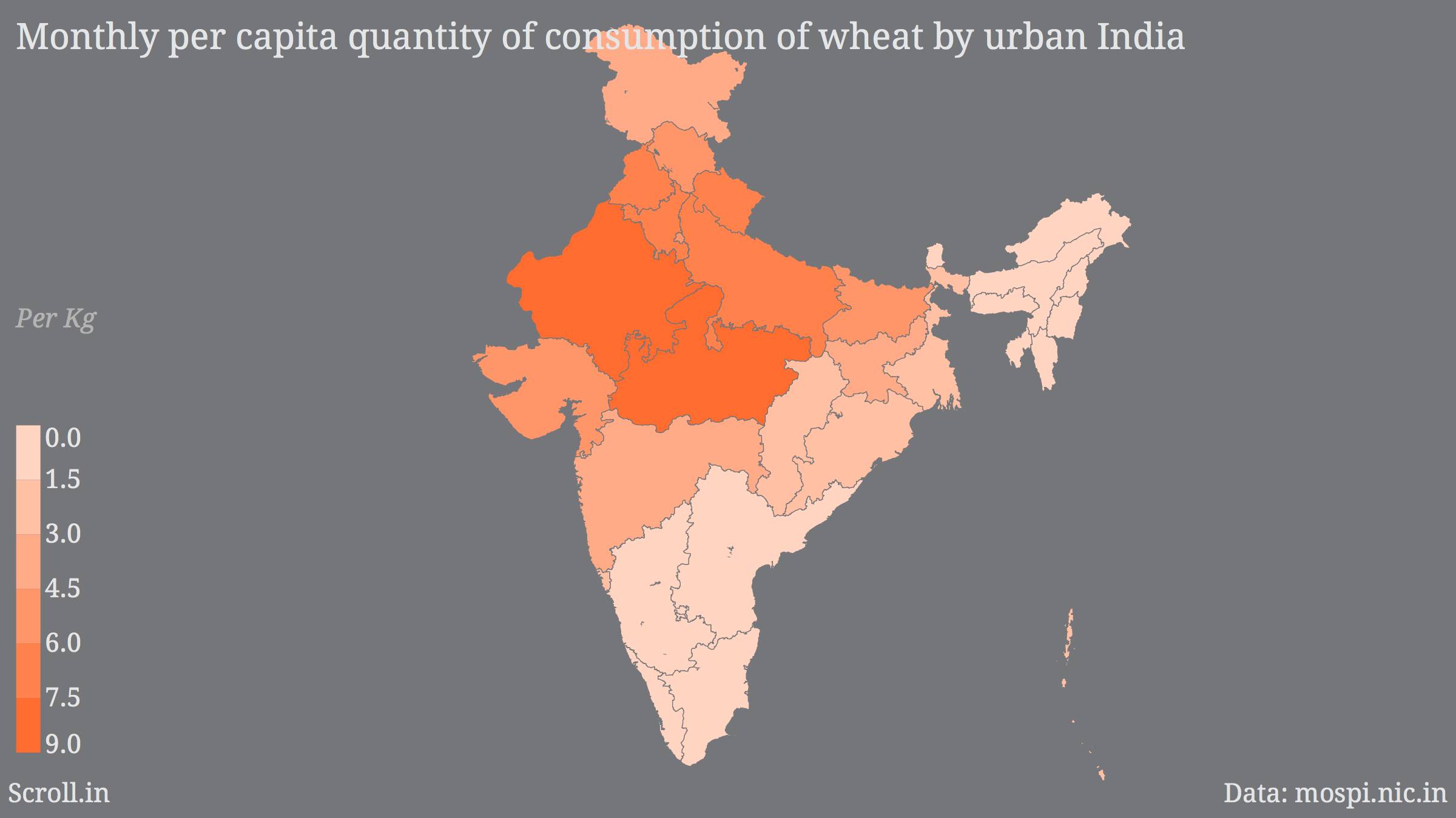 Rice and wheat maps of india rajasthan doesnt eat rice rotis a of the jammu region in uttarakhand they eat more wheat than rice in himachal pradesh its the other way round but both states eat both in substantial gumiabroncs Gallery