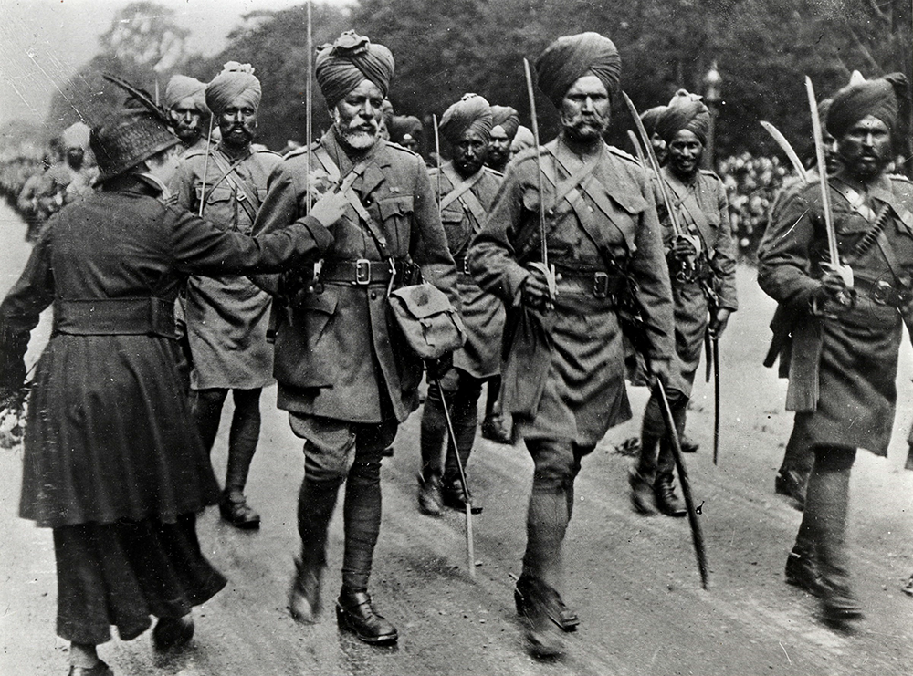 Image result for sikh soldiers in france world war