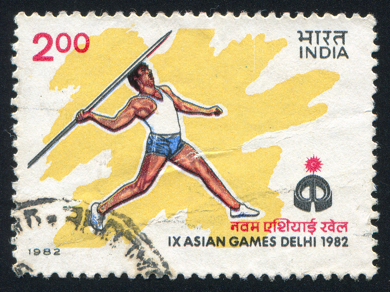 The Asian Games 1982 Postal Stamps (Image: roook76/Flickr)