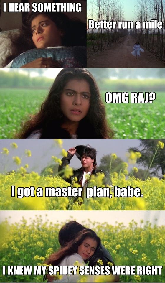 What If Ravi Shastri Had Made Ddlj Twitter Users Imagine