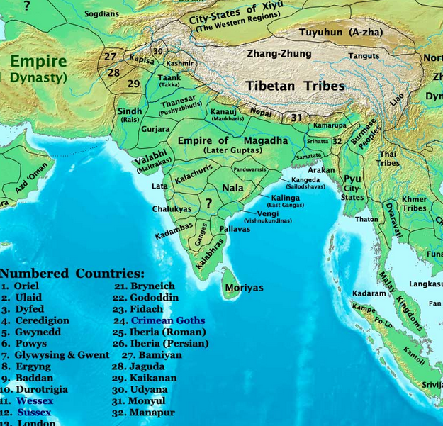 The changing map of india from 1 ad to the 20th century gumiabroncs Images