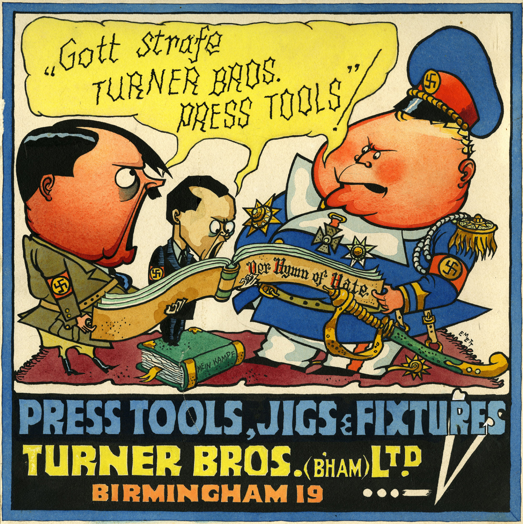 Cartoons How British Cartoonists Stuck It To Hitler With