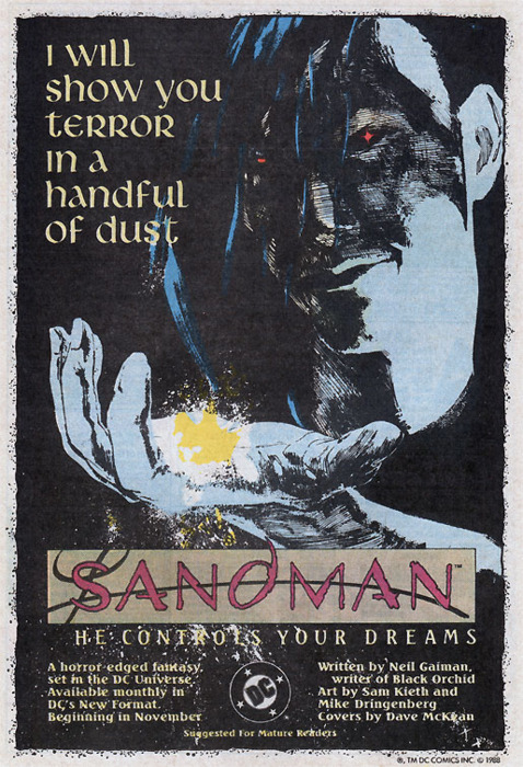 Image result for Neil Gaiman's Sandman I will show you fear