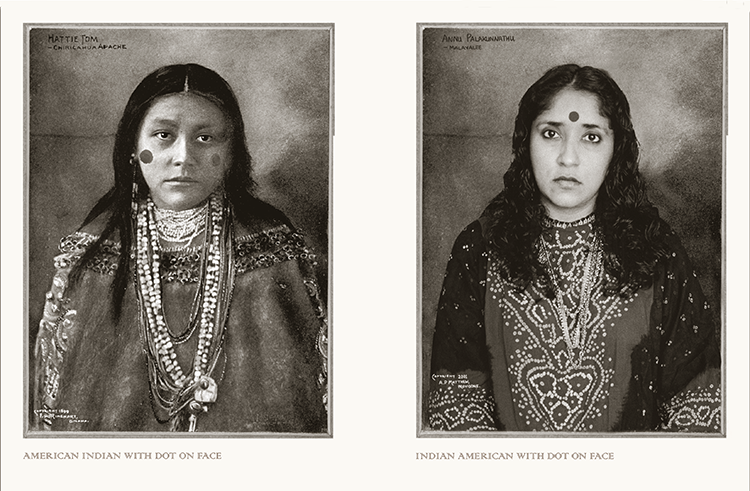 Are you Indian or are you Indian? A photographer transforms colonial images of Native Americans