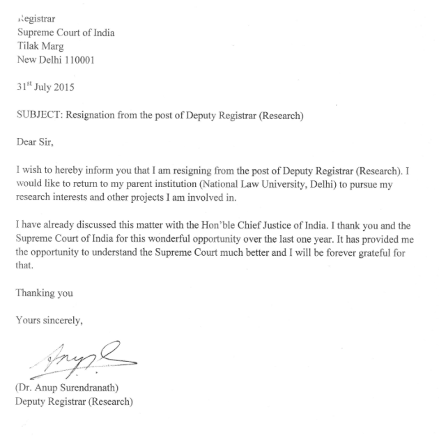 Resignation Letter To Pursue Other Interests