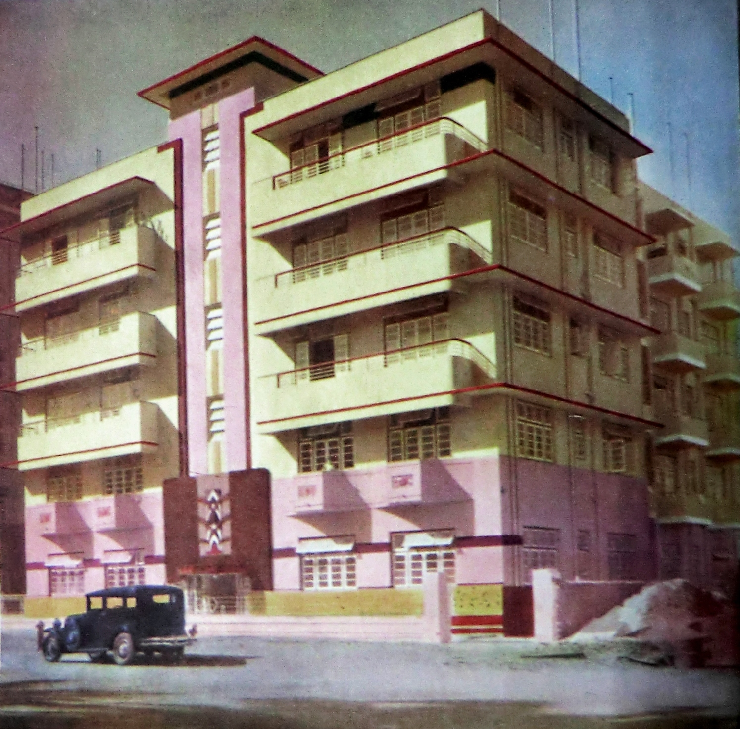 A walk down the oval an exhibition celebrates mumbai 39 s for Art deco building materials