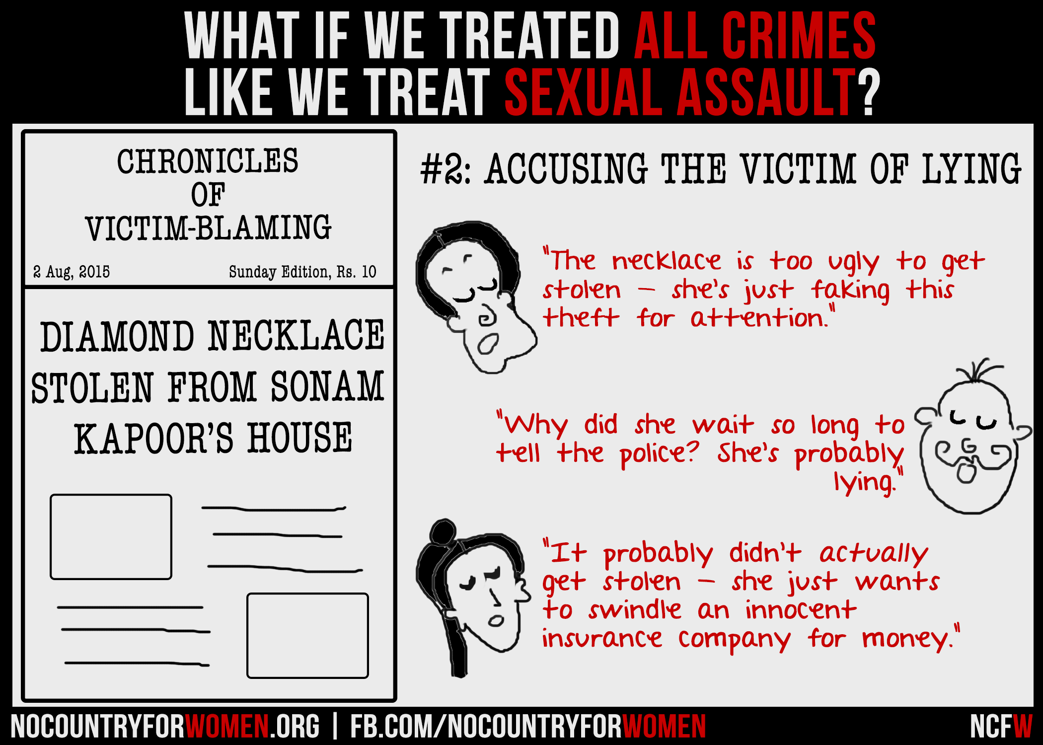 Instead Of Just Blaming Victims For >> These Posters Show How Ridiculous It Is To Blame Victims For Sexual