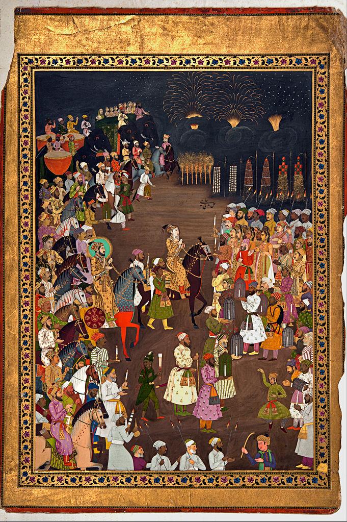 दारा शिकोह की बारात (1740 का दशक) | साभार - नेशनल म्यूजियम दिल्ली