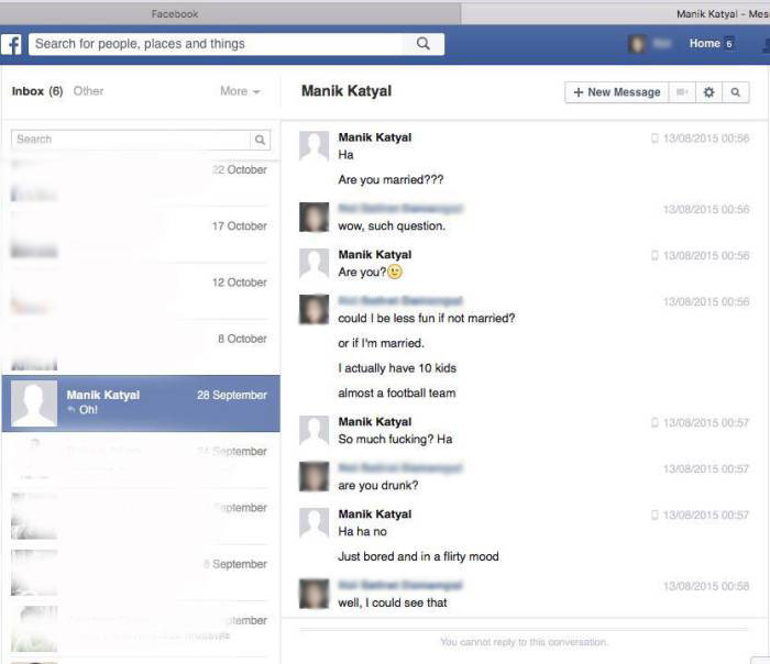 Sexual Harassment On Facebook