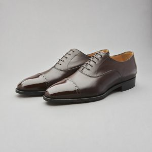 Men's Shoes - Oriental Brogued Captoe Oxford
