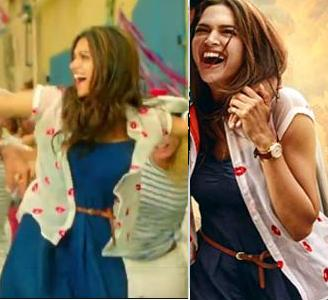 want a similar blue casual short dress like deepika is wearing - SeenIt