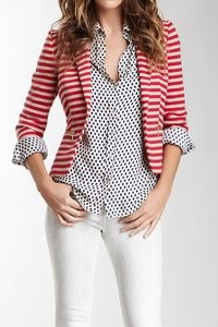 need a striped summer blazer in any color!! - SeenIt