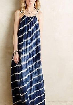 Want this navy tie and dye dress - SeenIt