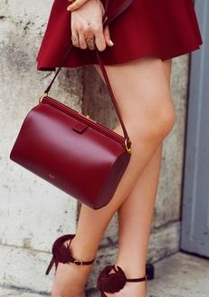 Want this maroon/red bag - SeenIt