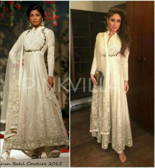 3be7c6fe37e19 want something similar to this white anarkali outfit kareena kapoor is  wearing - SeenIt