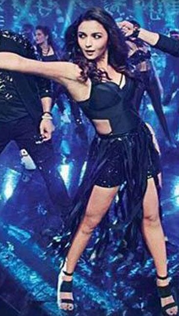 need this black cut out dress from the song lets nacho that alia bhatt wears in kapoor and sons - SeenIt
