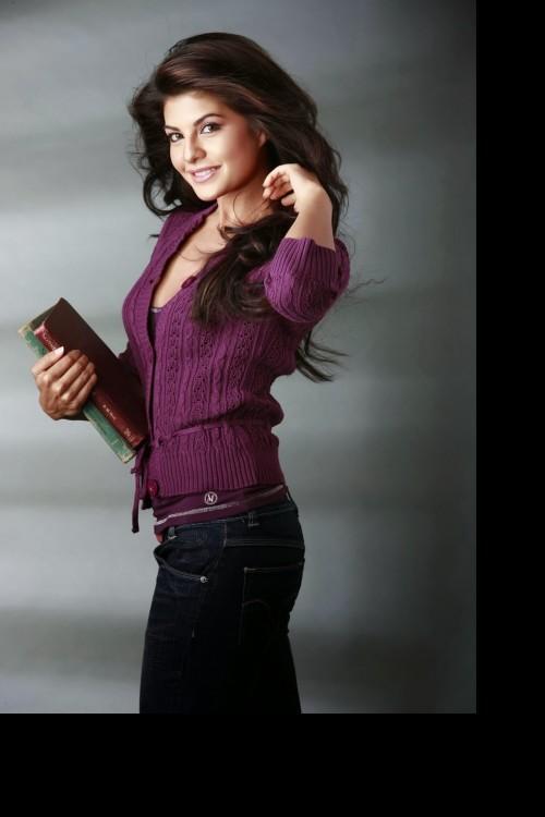 Looking for this purple cardigan Jacqueline Fernandez is wearing - SeenIt