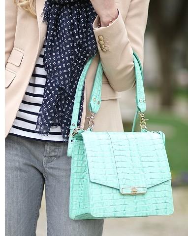 Someone find me a similar mint green bag pls! - SeenIt