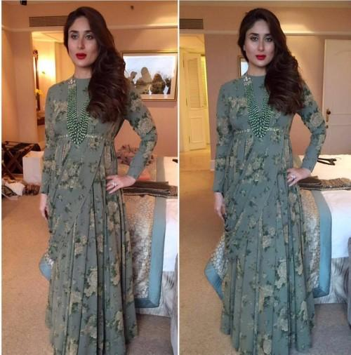 Kareena Kapoor in Sabyasachi Mukherjee Show at the Lakme India Fashion Week 2016. - SeenIt
