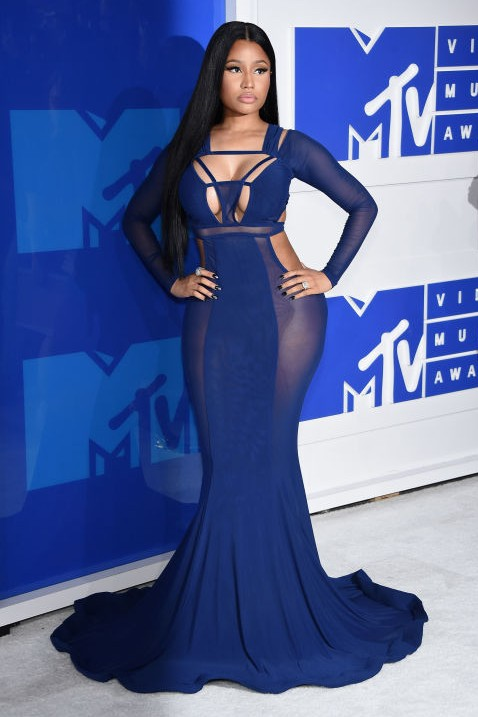 Nicki Minaj bought her 'A' game in Bao Tranchi at the MTV Video Music Award. - SeenIt