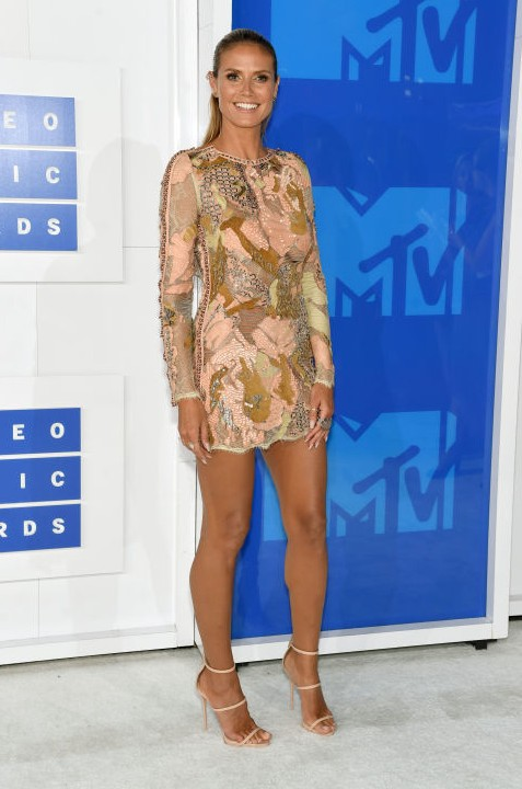 Heidi Klum at the MTV Video Music Award. - SeenIt
