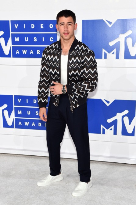 Nick Jonas at the MTV Video Music Award. - SeenIt