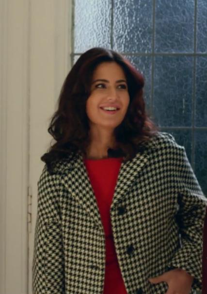 looking for a similar check coat like katrina wore - SeenIt
