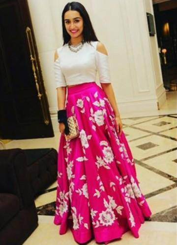 2ebac0fb8f Shop shraddhakapoor, outfit, skirt, top on SeenIt - 14068