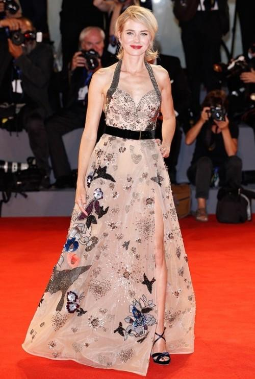 Naomi Watts at the Bleeder premiere at the Venice Film Festival. - SeenIt