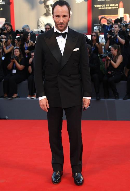 The legendary Tom Ford himself at the Nocturnal Animals premiere at the Venice Film Festival. - SeenIt