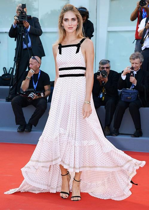 Chiara Ferragni set fire to the red carpet at the Venice Film Festival. Yay or Nay? - SeenIt