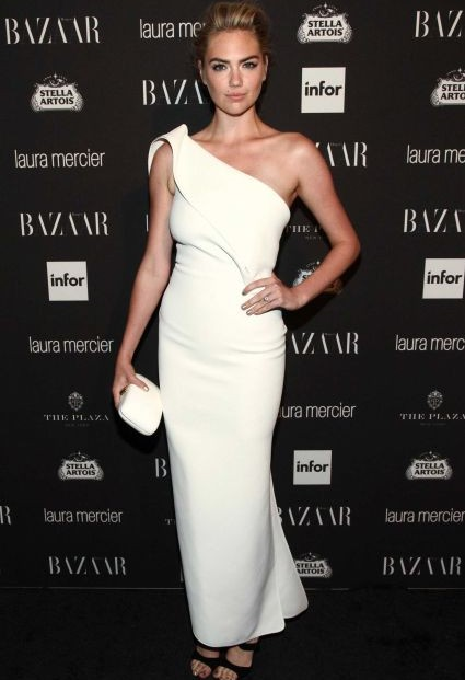 Kate Upton at Harper's Bazaar's Icons party. - SeenIt