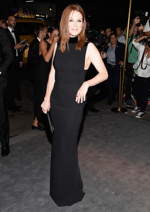 Julianne Moore at Tom Ford at the New York Fashion Week Spring 2017. - SeenIt
