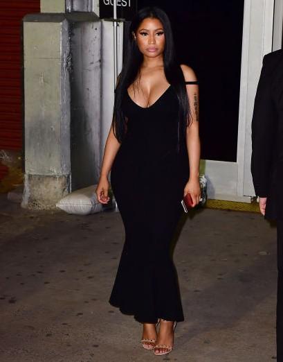 Nicki Minaj at the Alexander Wang show at New York Fashion Week. - SeenIt
