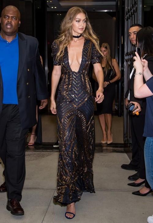 Gigi Hadid at Daily Front Row's Fashion Awards. - SeenIt