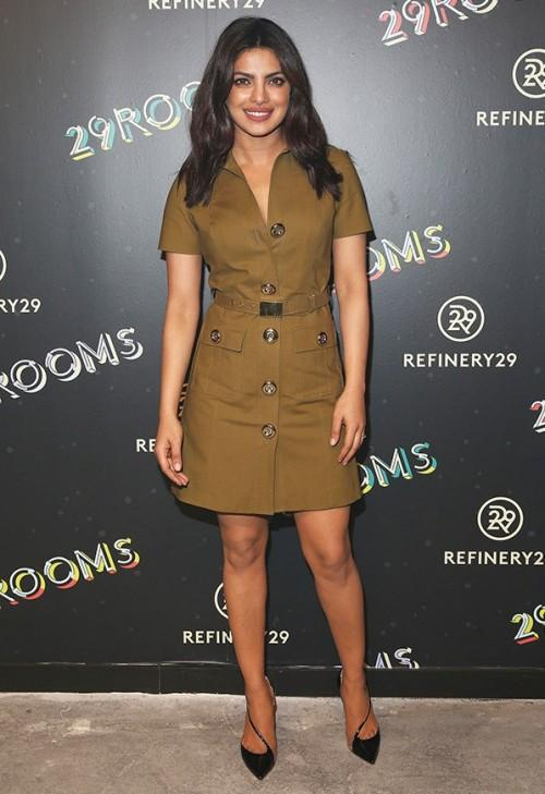 Priyanka Chopra attends the Refinery 29's '29 Rooms' opening during New York Fashion Week. - SeenIt