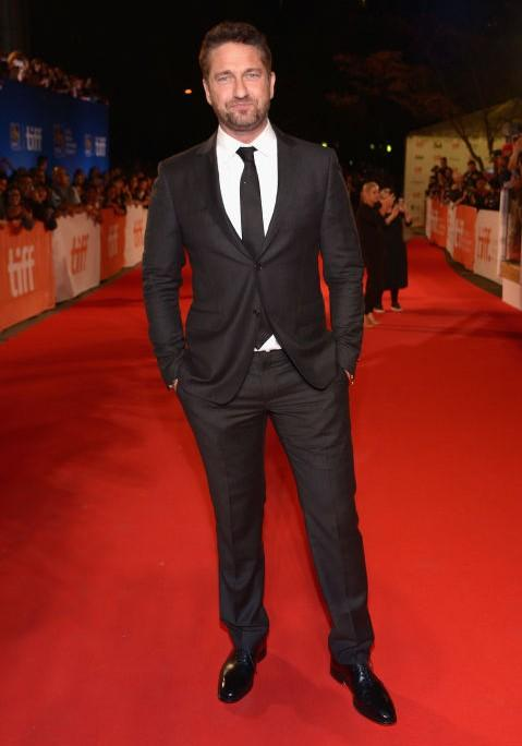 Gerard Butler at The Headhunger's Calling premiere. - SeenIt