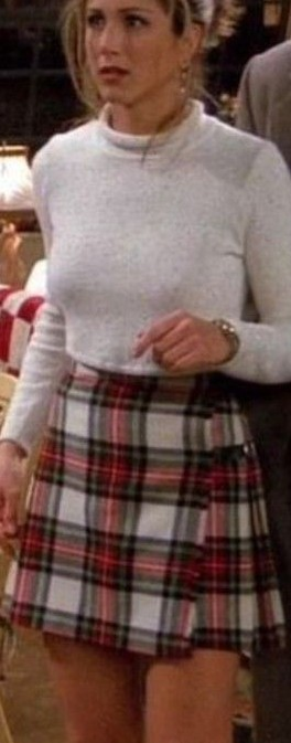 Rachel's red and white checkered mini skirt from FRIENDS!!! <3 - SeenIt